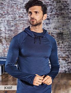 Langarm Sport Shirts
